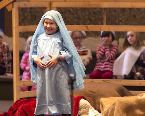 Full of meaning & delight: Christmas Pageant 2014