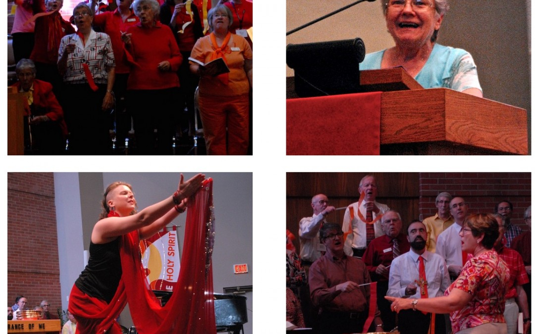 Pentecost celebrated with exuberance, song and story-telling