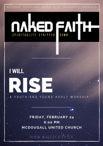 I WILL RISE Naked Faith Calgary