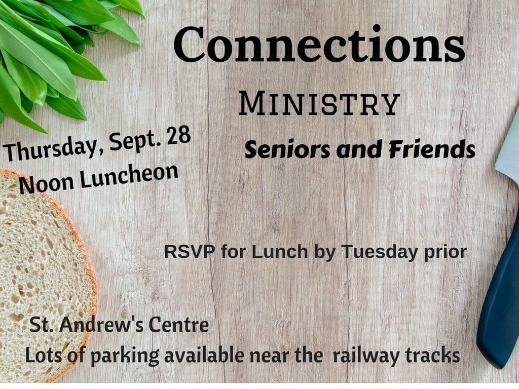 Seniors luncheon September 2017