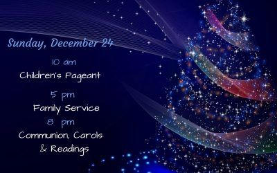 Times for Christmas Eve Services