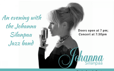 St. Andrew's Coffee House presents Johanna Sillanpaa