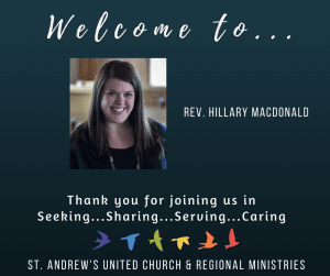 Welcome to Rev. Hillary MacDonald