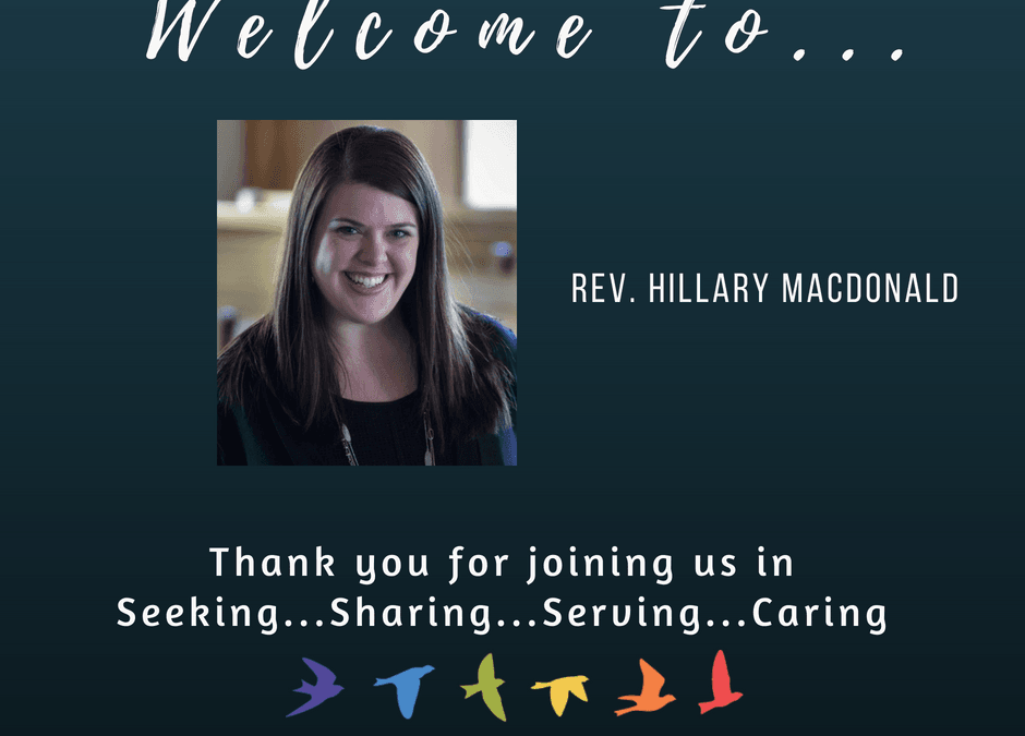 Welcoming Rev. Hillary MacDonald
