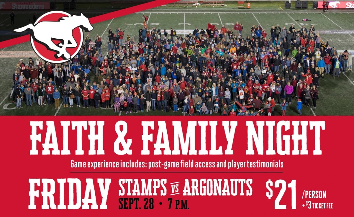Faith and Family Football Night