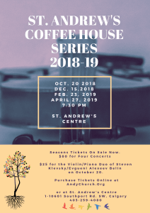 St. Andrew's Coffee House Poster-1