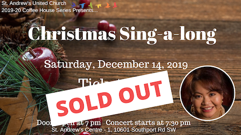 Christmas Sing-a-long - St. Andrew's Coffee House