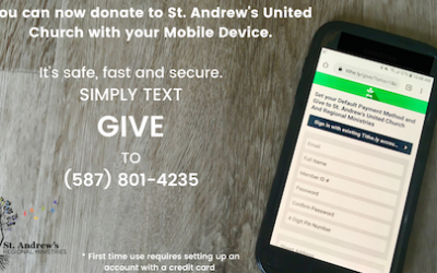 Donate with your Mobile Device