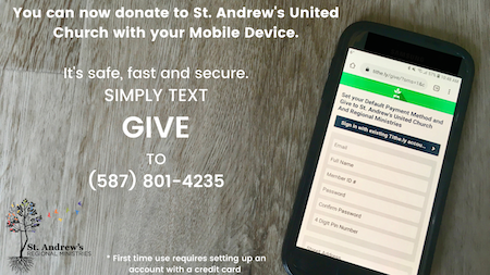St. Andrew's Text to Give