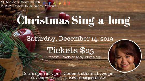 Purchase tickets for St. Andrew's Coffee House Series 2019-20